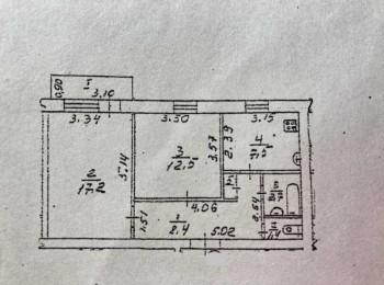 2-х комнатная квартира по ул. Летная, р-н Летного училища